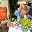 Brooks Nader Popeyes Nuggets Activation At Sports Illustrated Swimsuit Party