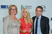 Olivia Diaz-Lapham, Lori Greiner and Stephen Galloway attend Big Brothers Big Sisters Of Greater Los Angeles Big Bash Gala - arrivals at The Beverly Hilton Hotel on October 19, 2018 in Beverly Hills, California.