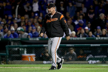 Bruce Bochy Division Series - San Francisco Giants v Chicago Cubs - Game Two