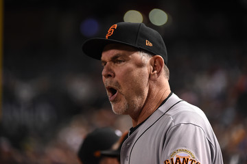 Bruce Bochy San Francisco Giants v Arizona Diamondbacks