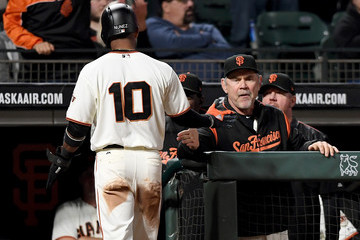 Bruce Bochy Cleveland Indians v San Francisco Giants