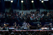 Bruce Springsteen and the E Street Band performs at the Los Angeles Sports Arena on March 15, 2016 in Los Angeles, California.