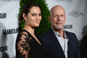 Bruce Willis  Cindi Leive Honors the Women of the Year