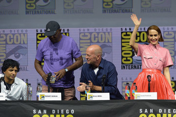 Bruce Willis Comic-Con International 2018 - Universal Pictures' 'Glass' And 'Halloween' Panels