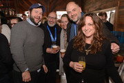 James Harris, Robert Jones, Gabrielle Stewart, Matthew Baker and Senior Production and Development Executive for BFI Film Fund Mary Burke attend Brunch with the Brits during the 2018 Sundance Film Festival on January 21, 2018 in Park City, Utah.