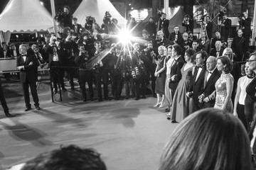 Bruno Ganz Alternative View In Black & White - The 71st Annual Cannes Film Festival
