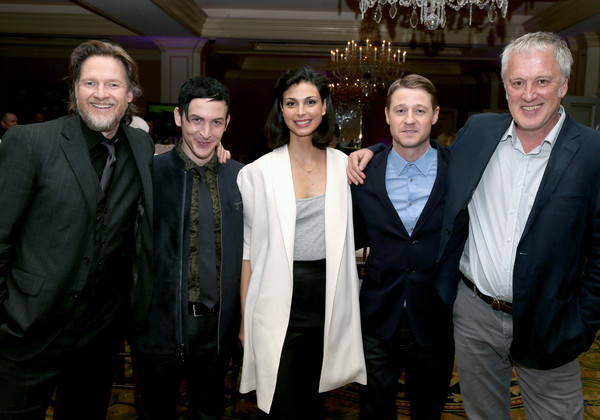 2015 Winter TCA Tour - Day 11 [winter tca,portion,l-r,event,suit,white-collar worker,taylor,bruno heller,actors,writer,donal logue,ben mckenzie,morena baccarin]