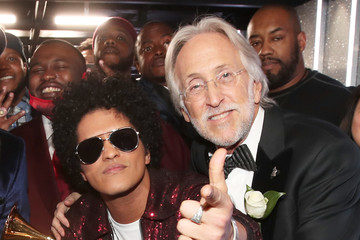 Bruno Mars 60th Annual GRAMMY Awards - Backstage