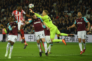 Bruno Martins Indi West Ham United Vs. Stoke City - Premier League