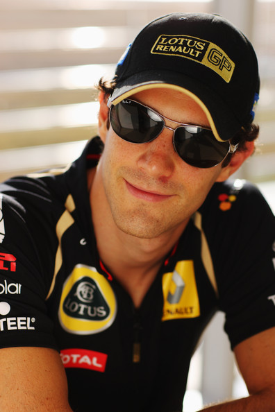 Bruno Senna Bruno Senna of Brazil and Renault poses for a photograph during previews to the Korean Formula One Grand Prix at the Korea International Circuit on October 13, 2011 in Yeongam-gun, South Korea.