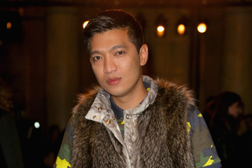 Bryan Boy Aquilano Rimondi - Front Row - Milan Fashion Week Womenswear Autumn/Winter 2014