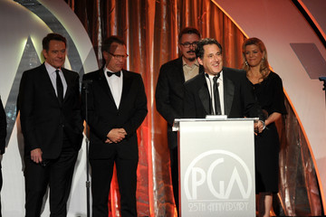 Bryan Cranston Vince Gilligan 25th Annual Producers Guild of America Awards