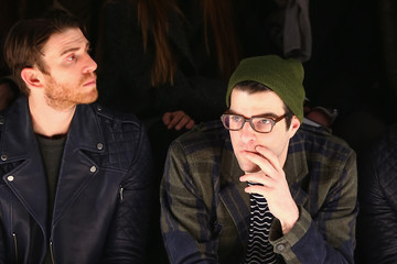 Bryan Greenberg Zachary Quinto Front Row at the Richard Chai Show