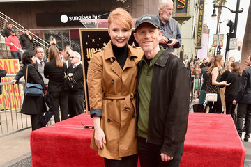 Bryce Dallas Howard Ron Howard Ron Howard Is Honored with a Star on the Hollywood Walk of Fame