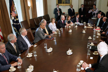 Buck McKeon Barack Obama Meets with Members of Congress
