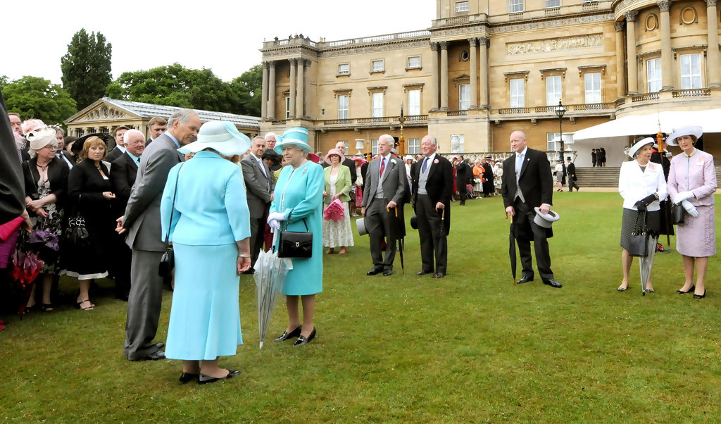 Buckingham Palace Holds Garden Party Zimbio