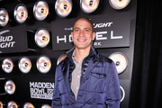 Professional football player Jimmy Graham attends the Bud Light Madden Bowl at The Bud Light Hotel on January 30, 2014 in New York City.