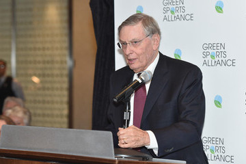 Bud Selig Professional Sports Leaders Join Green Sports Alliance to Honor the New York Yankees For Their Dedication To Environmental Leadership