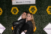 Brandi Cyrus hosts the BumbleSpot #atthemoxy launch with special guest Wells Adams at moxy Chicago Downtown on November 15, 2018 Chicago, Illinois.