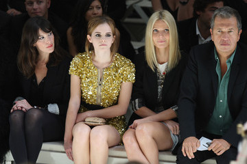 Mario Testino Emma Watson Burberry Front Row: Spring/Summer 2010 - London Fashion Week
