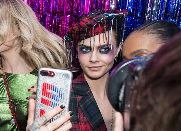 Burberry x Cara Delevingne Christmas Party, London