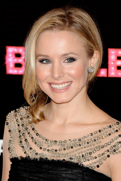 "Actress Kristen Bell attends ""Burlesque"" premiere at Callao cinema on December 9, 2010 in Madrid, Spain."