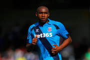 Wilson Palacios of Stoke in action during the Pre Season Friendly match between Burton Albion and Stoke City at the Pirelli Stadium on August 2, 2014 in Burton-upon-Trent, England.
