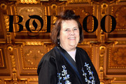 Suzy Menkes attends the #BoF500 Cocktail Event as part of the Paris Fashion Week Womenswear  Spring/Summer 2017 at Hotel de Ville on October 4, 2016 in Paris, France.