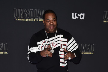 Busta Rhymes Premiere Of USA Network's 'Unsolved: The Murders Of Tupac And The Notorious B.I.G.' - Arrivals
