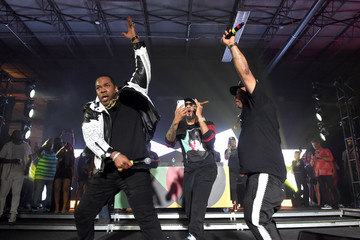 """Busta Rhymes Swizz Beatz BACARDI, Swizz Beatz And The Dean Collection Bring NO COMMISSION Back To Miami To Celebrate """"Island Might"""" - Friday December 8"""
