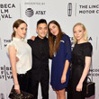 Portia Doubleday and Carly Chaikin Photos