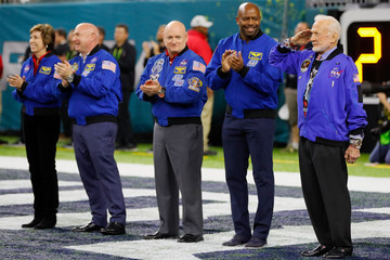 Buzz Aldrin Super Bowl LI - New England Patriots v Atlanta Falcons