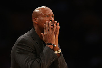 Byron Scott Golden State Warriors v Los Angeles Lakers