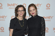 Michelle Numm and Jordana Spiro attend CARE's 2018 Impact Awards at Mandarin Oriental New York on November 14, 2018 in New York City.