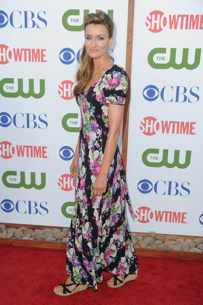 Actress Natascha McElhone arrives at the TCA Party for CBS, The CW and Showtime held at The Pagoda on August 3, 2011 in Beverly Hills, California. (Photo by Frazer Harrison/Getty Images) ..