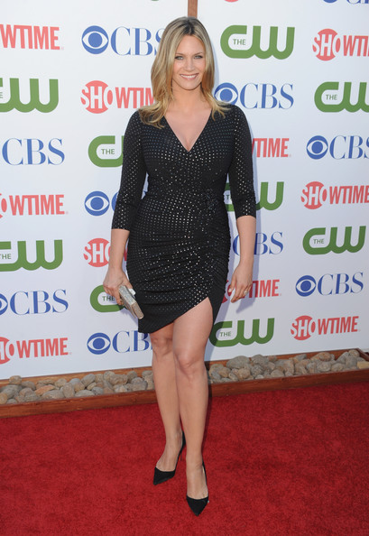 Actress Natasha Henstridge arrives at the TCA Party for CBS, The CW and Showtime held at The Pagoda on August 3, 2011 in Beverly Hills, California.