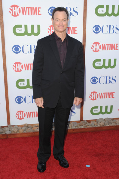 Actor Gary Sinise arrives at the TCA Party for CBS, The CW and Showtime held at The Pagoda on August 3, 2011 in Beverly Hills, California.