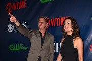 Actors Dash Mihok and Alana De La Garza attend CBS' 2015 Summer TCA party at the Pacific Design Center on August 10, 2015 in West Hollywood, California.