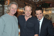 """Actors Tristian Rogers, Kin Shriner and Christian LeBlanc attend CBS' """"The Young and the Restless"""" 38th Anniversary cake cutting on March 24, 2011 in Los Angeles, California."""