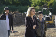 """""""The Bunker Games"""" -- Team Scorpion must work with Toby's nemesis, Quincy Berkstead (Jeff Galfer), and his wife, Amy (Shantal VanSanten), Toby's ex-fiancé, when they are locked inside an artificially intelligent doomsday bunker that aims to kill them. Also, Walter is distracted by his recent dream where he is married to Florence, not Paige, on SCORPION, Monday, Jan. 15 (10:00-11:00 PM, ET/PT) on the CBS Television Network.Pictured: Eddie Kaye Thomas, Shantel VanSanten, Jadyn Wong"""