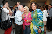 (L-R) Stan Herman, Betsey Johnson and Fern Mallis attend the CFDA Celebrates Fashion Targets Breast Cancer 20th Anniversary event with Maria Sharapova, presented by Porsche at The New Museum on August 20, 2014 in New York City.