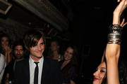 "Michael ""Jared"" Followill of the Kings Of Leon (left) attends THE CINEMA SOCIETY & D&G after party for THE TWILIGHT SAGA: NEW MOON screening  at  on November 19, 2009 in New York City."