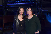 Leslie Fram and Margaret Comeaux attend CMT Crossroads: Gavin Degraw & Chris Young at The Factory At Franklin on November 26, 2019 in Franklin, Tennessee.