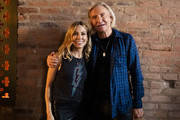 Sheryl Crow poses with Joe Walsh during CMT Crossroads: Sheryl Crow & Friends at Clementine Hall on August 22, 2019 in Nashville, Tennessee.