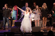 Jonathan Jackson, Clare Bowen, Charles Esten, Maisy Stella and Lennon Stella perform at Grand Ole Opry House on March 25, 2018 in Nashville, Tennessee.