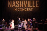 Jonathan Jackson, Clare Bowen, Charles Esten, Maisy Stella, Lennon Stella and Sam Palladio perform at Grand Ole Opry House on March 25, 2018 in Nashville, Tennessee.