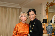 Kieu Chinh (R) and Tippi Hedren attend the 2013 Legacy of Style Award Ceremony at The Peninsula Hotel on September 23, 2013 in Beverly Hills, California.