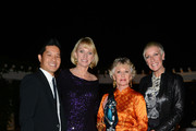 (L-R) Tam Nguyen, Lynelle Lynch, Tippi Hedren and Jan Arnold attend 2013 Legacy of Style Award Ceremony at The Peninsula Hotel on September 23, 2013 in Beverly Hills, California.