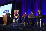Singer-songwriter Matt Rogers, Cole Taylor, Jimmy Robbins and Nicolle Galyon perform onstage during day 2 of CRS 2018 on February 6, 2018 in Nashville, Tennessee.