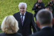 Horst Seehofer, Chairman of the Bavarian Social Union (CSU), arrives for a meeting of the CSU leadership at party headquarters on October 15, 2018 in Munich, Germany. The CSU faired poorly in the election, winning 37.2% of the vote, 10.5 votes fewer than in the last election. The CSU has long been Bavaria's strongest party but will now face the arduous task of forming a state government coalition.